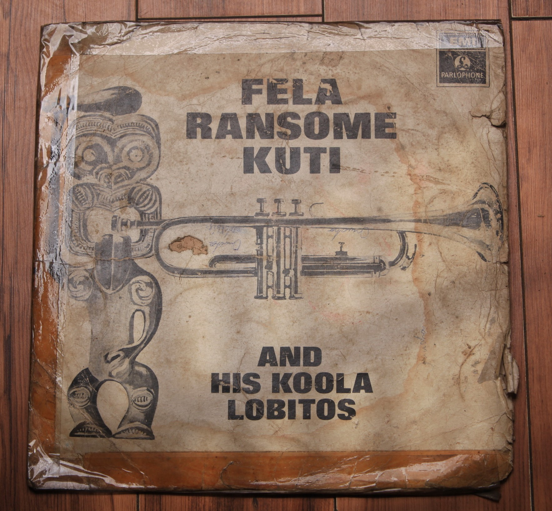 1968 Fela Ransome-Kuti and His Koola Lobitos Fela Ransome-Kuti and the Koola Lobitos (LP Nigeria, EMI PNL 1002)