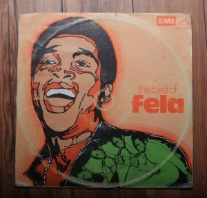 Fela Ransome-Kuti and His Africa 70 The Best of Fela (LP Nigeria, EMI (HMV) HNLX5043)